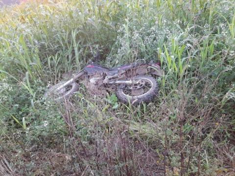 Motocicleta furtada é recuperada em Vidal Ramos