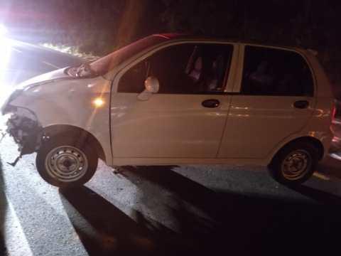 Acidente deixa motociclista ferido na SC-350, em Laurentino