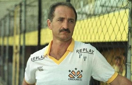 Felipão era o técnico do Criciúma no título da Copa do Brasil (Foto: Criciúma EC / Arquivo pessoal)