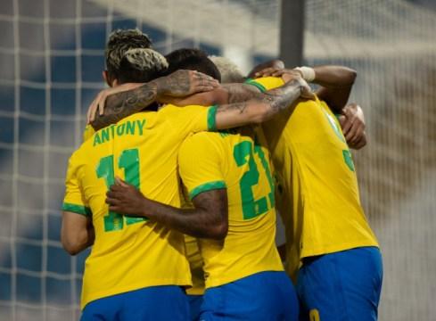 Jogo Preparatório Seleção Olímpica: Brasil x Sérvia Sub-24 (08/06/2021) Foto: Ricardo Nogueira / CBF