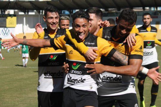 Dudu Figueiredo marcou o segundo gol do Criciúma (Foto: Celso da Luz / Criciúma EC)