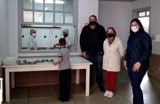 Prefeito de Taió realiza visitas às escolas da Rede Municipal de Ensino