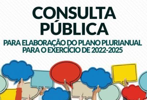 Consulta pública online para a elaboração do Plano Plurianual vai até domingo (20), em Taió