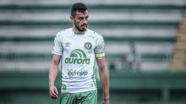 Anderson Leite é desfalque certo para o jogo contra o Palmeiras (Foto: Chapecoense / Divulgação)