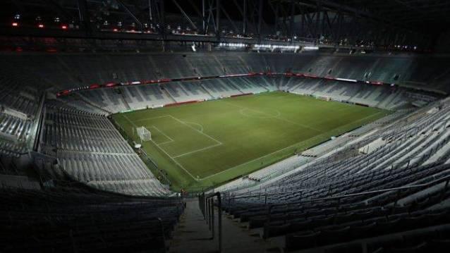Arena da Baixada, em Curitiba (Foto: Albari Rosa / Gazeta do Povo)