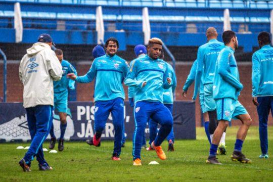 Avaí encerrou preparação para encarar o Londrina (Foto: Leandro Boeira / Avaí FC)