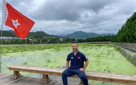Bruno Fontes prepara a seleção de vela Chinesa para as Olimpíadas de Tóquio (Foto: Divulgação)
