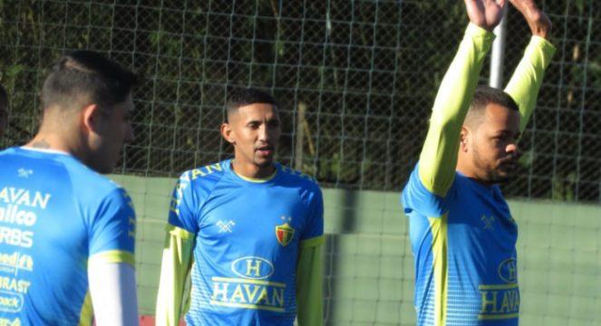 Diego Mathias deve continuar na equipe titular (Foto: João Vítor Roberge / O Município)