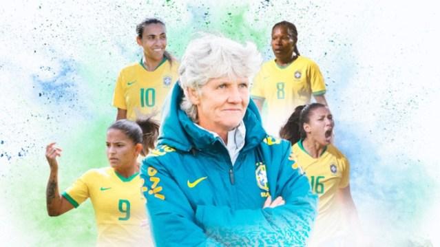 Carrossel Raio-X Seleção Feminina (Foto: Arte: Infoesporte / ge.globo)