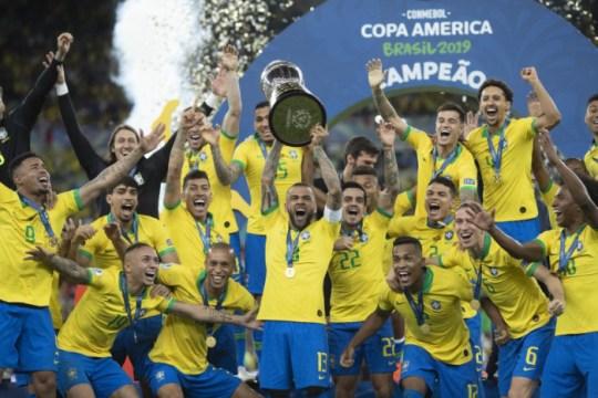 Em 2019, Brasil venceu o Peru e foi campeão da Copa América (Foto: Lucas Figueiredo / CBF / Divulgação)