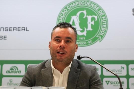 Jair Ventura é o novo técnico da Chapecoense (Foto: Márcio Cunha / ACF)