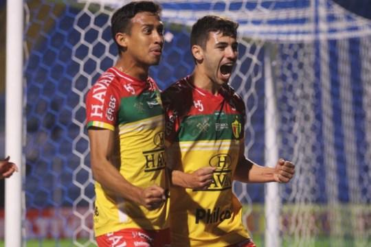 Brusque é vice-líder na tabela da Série B (Foto: Lucas Gabriel Cardoso / Brusque FC)
