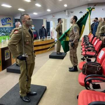 Polícia Militar de Taió tem novo comandante