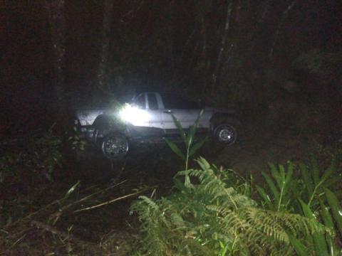 Veículo furtado no Centro de Salete é encontrado