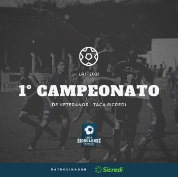 Liga Riosulense de Futebol abrirá inscrições para a 1ª edição do Campeonato de Veteranos