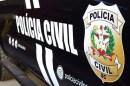 Homem é preso em Salete pelos crimes de homicídio qualificado e posse ilegal de arma de fogo