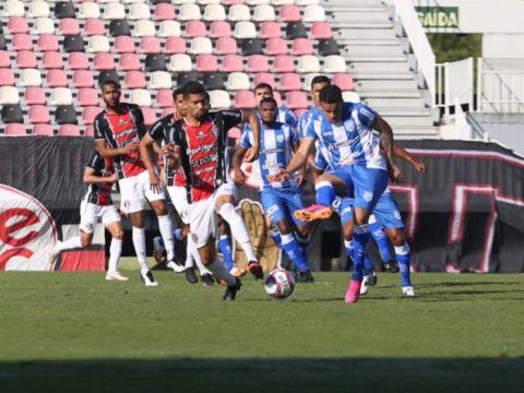 JEC e Esportivo ficaram no 0 a 0 na tarde deste sábado (24), na Arena Joinville (Foto: Vitor Forcellini JEC / Divulgação)