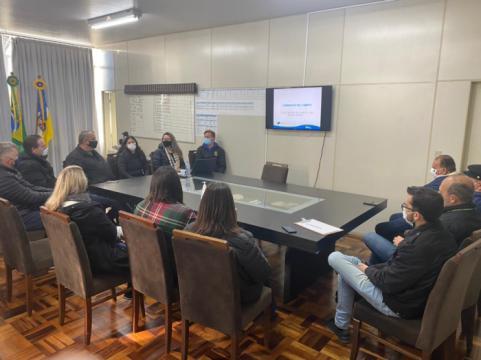 Ações e projetos de Departamento de Turismo são apresentadas ao governo municipal de Taió