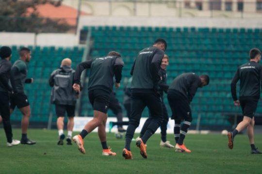 Figueirense terá até oito desfalques para encarar o Novorizontino (Foto: Patrick Floriani / Figueirense)