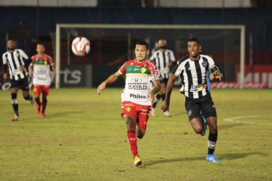 Brusque venceu o Botafogo de virada (Foto: Lucas Gabriel Cardoso / Brusque FC)