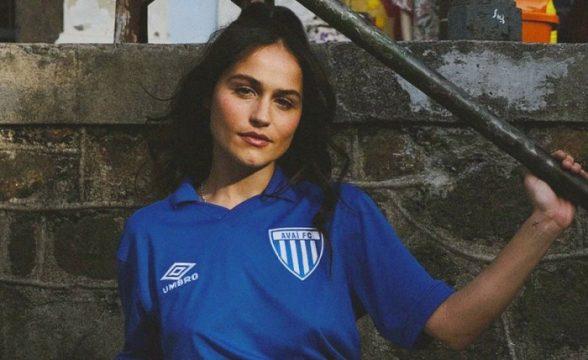 Camisa retrô do Avaí é alusiva ao título do Catarinense de 1988 (Foto: Divulgação)