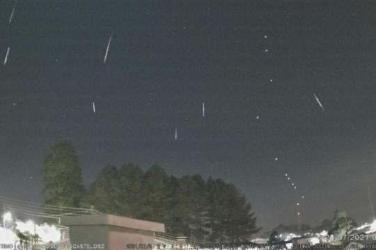 16 meteoros por hora devem ser registrados na sexta-feira (Foto: Jocimar Justino / Arquivo Pessoal)