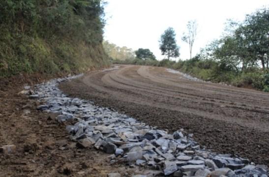 Nova etapa na melhorias de estradas é concluída em Salete