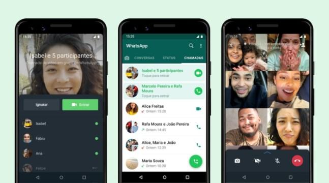 WhatsApp permite participar de chamadas em andamento (Foto: Divulgação / WhatsApp)