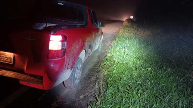 Motorista embriagado é preso após causar acidente na BR-470, em Pouso Redondo