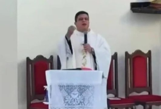 Padre Pablo Henrique de Faria (Foto: Reprodução / Twitter)