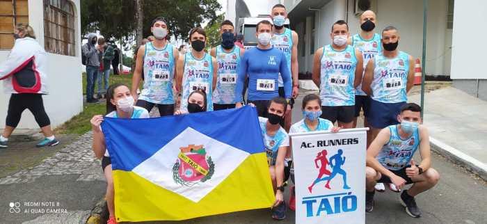 AC. Runners, de Taió, é destaque na 16ᵃ Corrida e Caminhada Cerene 2021