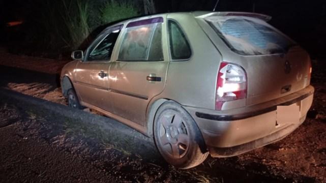 Motorista embriagado é detido após saída de pista na BR-470, em Ibirama