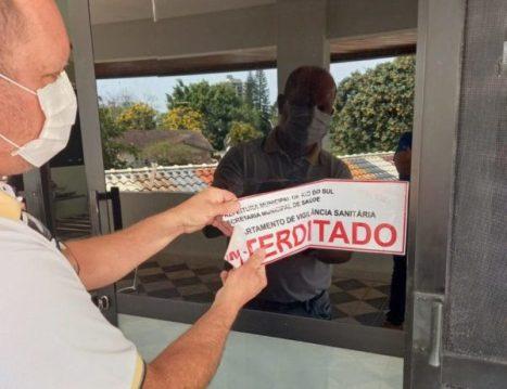 Sala de necropsia do IML de Rio do Sul foi liberada nesta segunda-feira (Foto: Divulgação / Adilson Bonfanti)