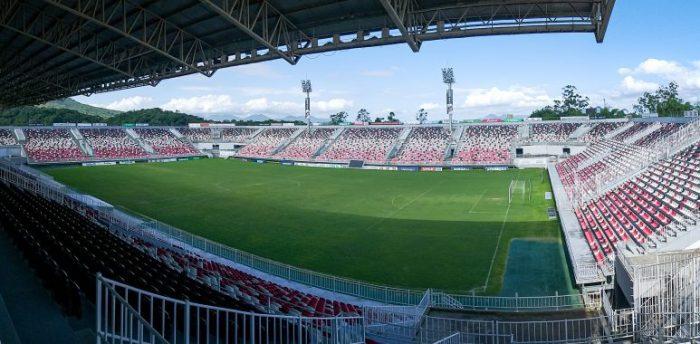 Clássico contra o Avaí continua sem a presença da torcida na Arena Joinville (Foto: JEC / Divulgação)