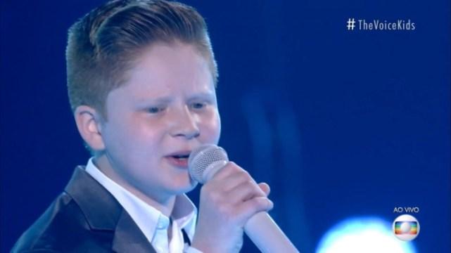 Catarinense Gustavo Bardim vence o The Voice Kids 2021