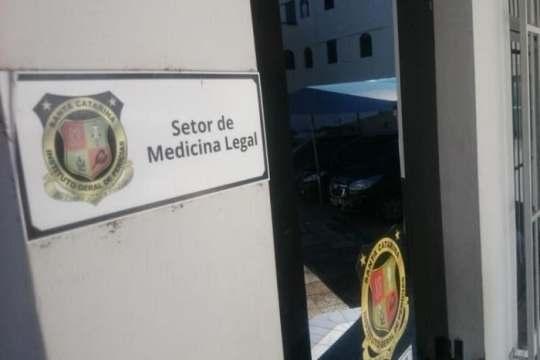 IML do Rio do Sul passou mais de um mês fechado (Foto: Jean Laurindo / Santa)