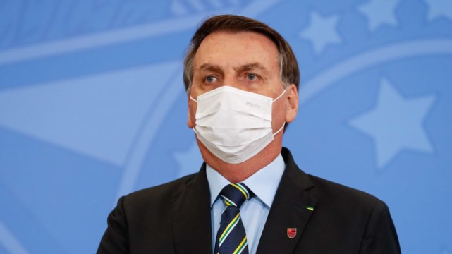 Presidente Jair Bolsonaro testa negativo para Covid-19