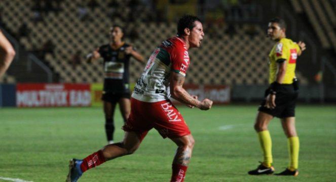 Brusque arranca empate com o Sampaio Corrêa e interrompe jejum de gols com Edu