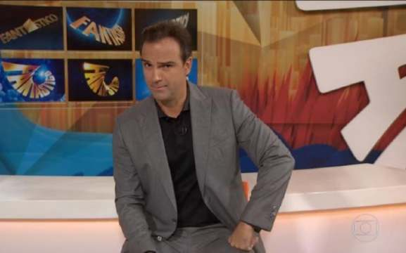 O apresentador do Fantástico não é a única opção para o BBB 22 (Foto: TV Globo / Reprodução)