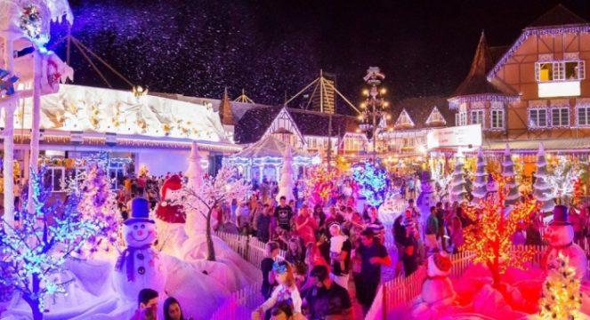 Conheça as atrações do Natal 2021 em Blumenau