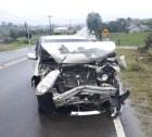 Idoso fica ferido após acidente de trânsito na SC-110