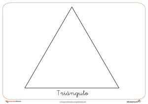 triángulo, figuras geométricas, formas geométricas, matemáticas, recursos para el aula, fichas gratis