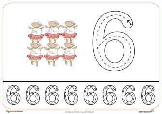 14grafomotricidad numeros