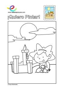 Dibujos De Ninos: Dibujos Colorear Ninos 7 Anos