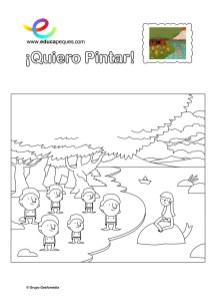 colorear_sirena-y-duendes