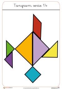 tangram para recortar
