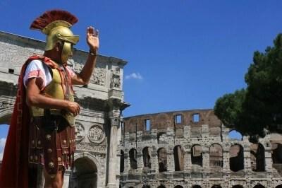 Imagen de rincones del mundo: el Colisem Romana de lectura para niños de educapeques.
