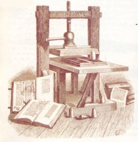 La invención de la imprenta. Un invento que cambio la historia de las letras. Educapeques