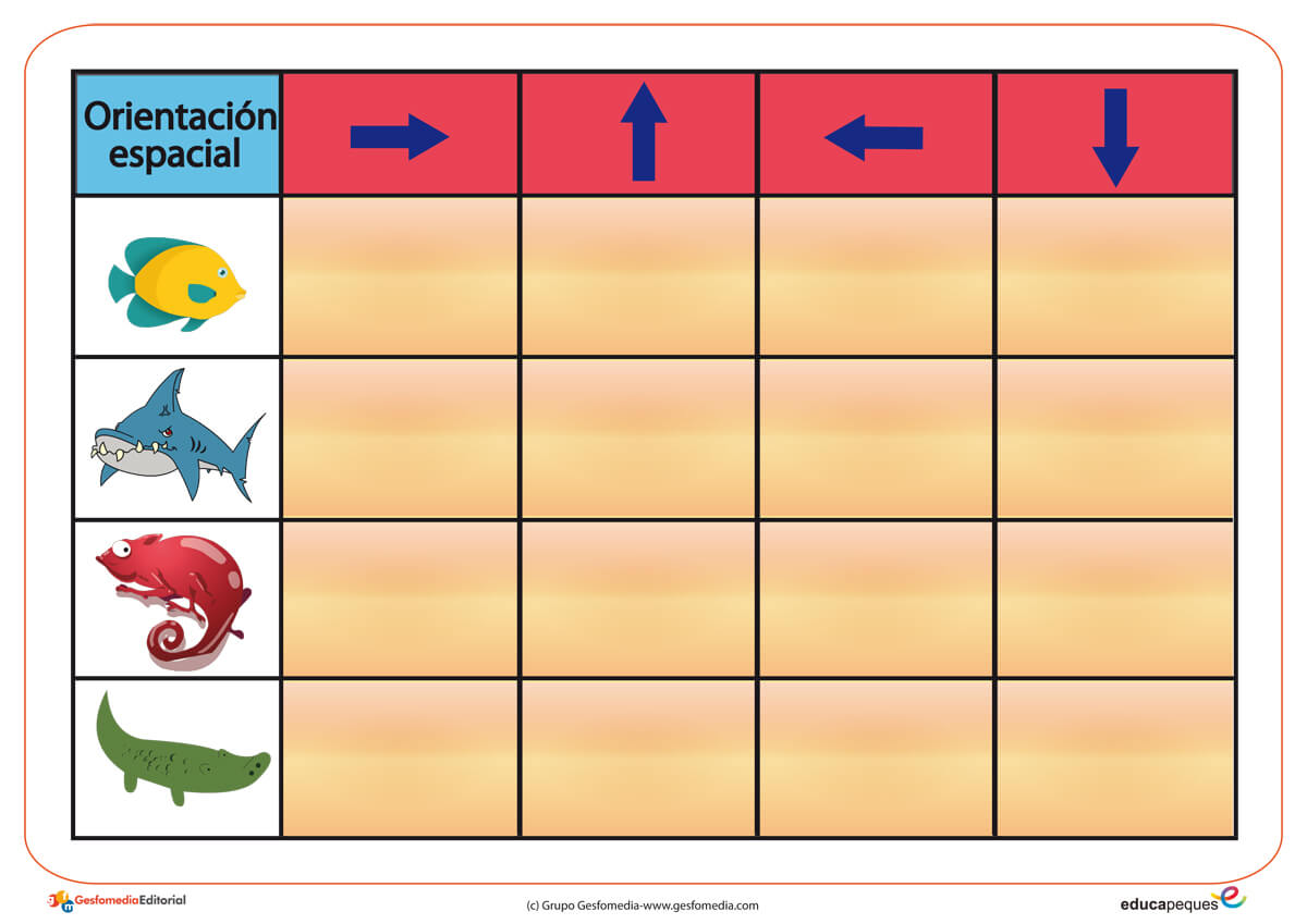 recursos para el aula, recursos didácticos, recursos educativos, recursos para clase, orientación espacial, estimulación niños