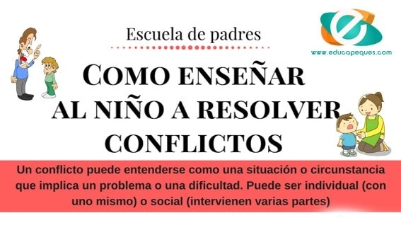 ayudar a resolver conflictos